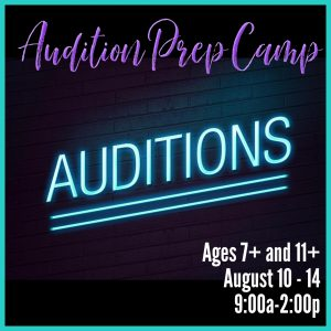 audition prep camp